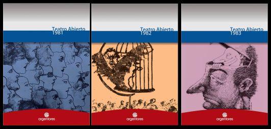 Presentación de los libros de Teatro Abierto