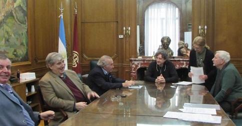 Se firmó un acuerdo entre Argentores y A.R.P.A.