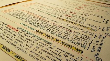 El guion y después