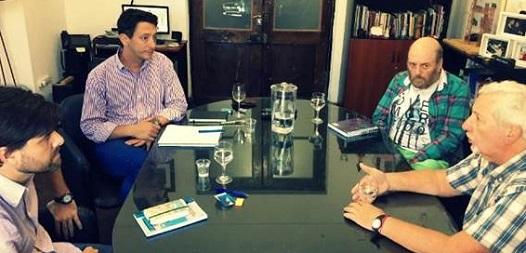 Positiva visita del Secretario de la entidad a Córdoba