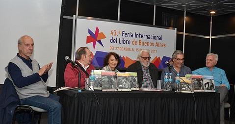 """Cálida presentación de """"Los Clásicos de Argentores"""" en la Feria"""