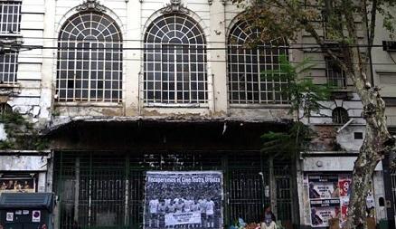 Este jueves, abrazo simbólico al Cine Teatro Urquiza para frenar su demolición