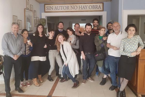 Encuentro con alumnos de la Diplomatura en Dramaturgia de la UBA