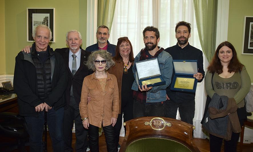 Los autores del film «La educación del Rey» recibieron el premio Argentores