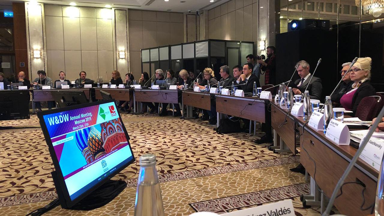 W&DW delibera en Moscú y celebró el voto histórico de la Unión Europea a favor de los creadores